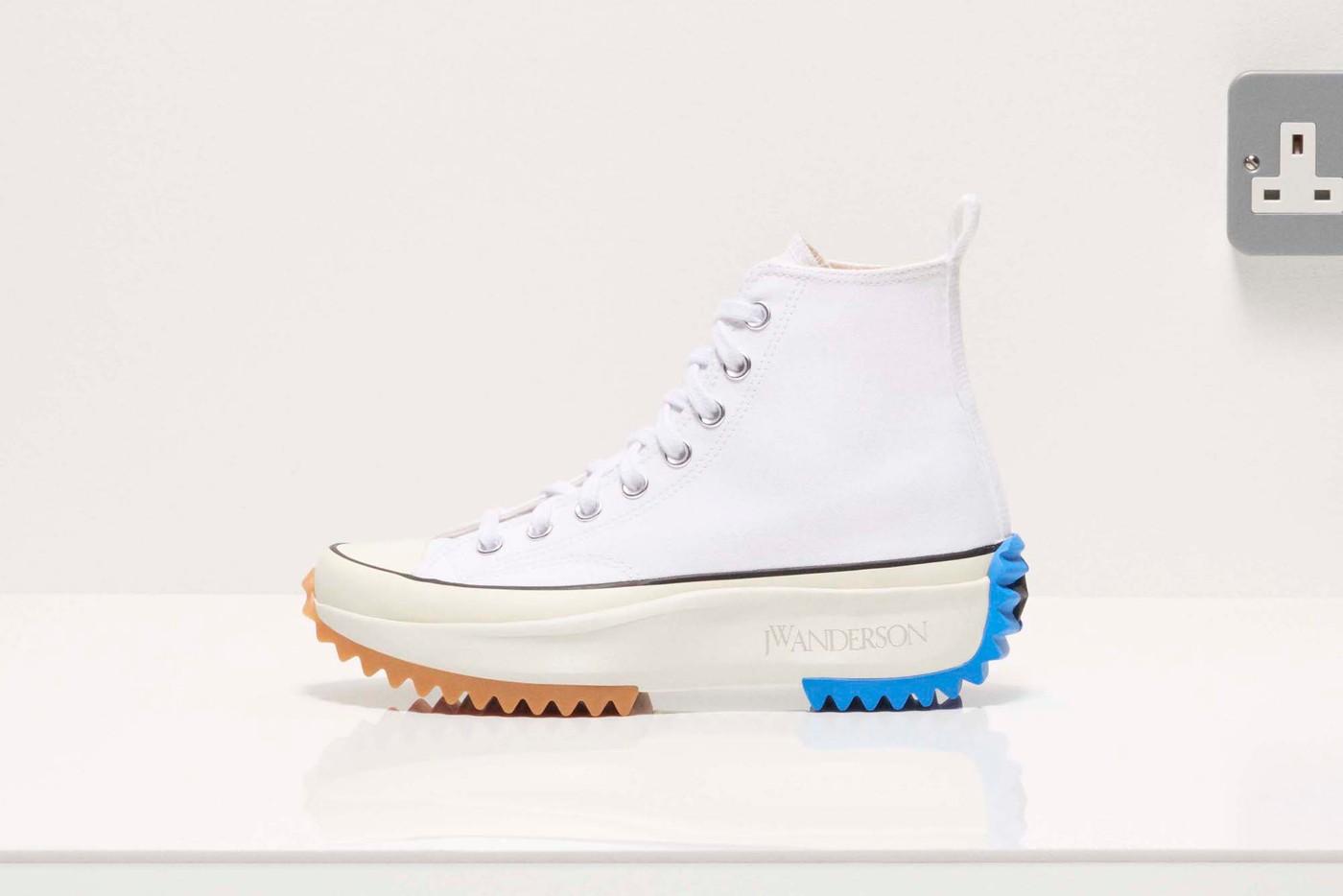 jw Anderson converse run star hike sneaker cap bag restock