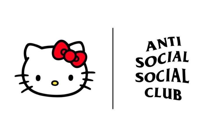 Anti Social Social Club 與 Hello Kitty 最新聯乘系列,24 小時以內就造成售罄!
