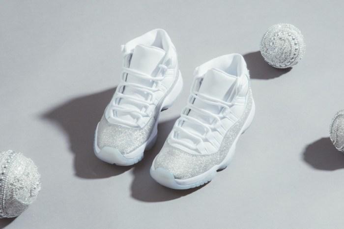 閃耀的夢幻之作:Air Jordan 11 Retro 推出全新配色,沈浸在金屬銀的星空之中!