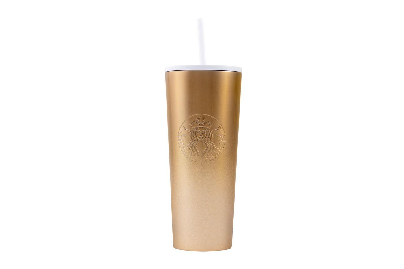 starbucks holiday reusable cups ombre mercury glitter gradient