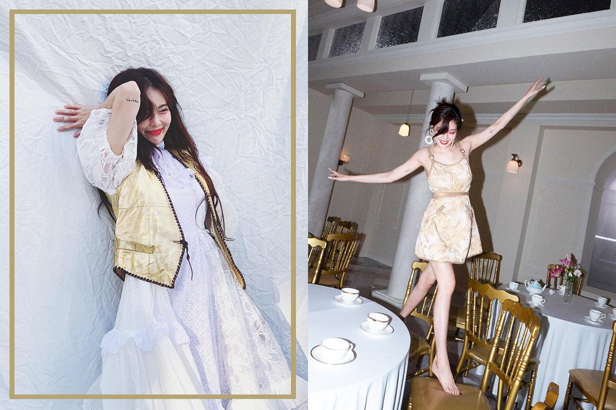 Hyuna Kim Gim Hyeon a Wonder Girls 4Minute Cube Entertainment P Nation E'Dawn DAWN PSY Korean Idols celebrities singers sexy idols