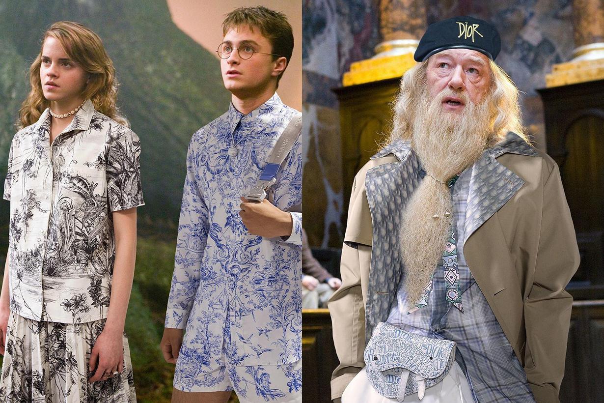 Harry Potter @gryffindior Character wearing Dior Chanel High fashion Rachel Bernstein Moda Operandi Instagram Arts