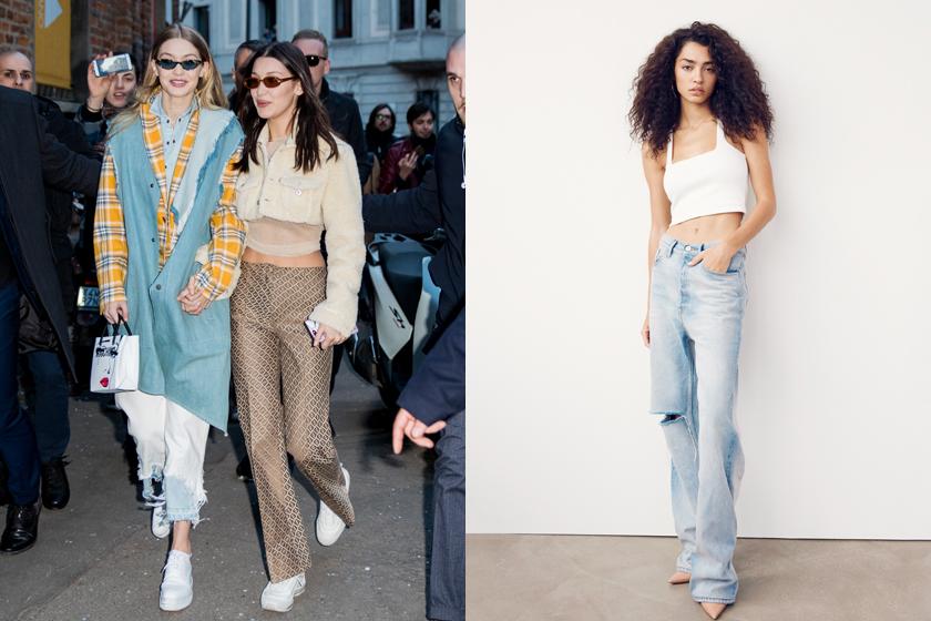 gigi bella hadid stylist mimi 3x1 jeans collabration