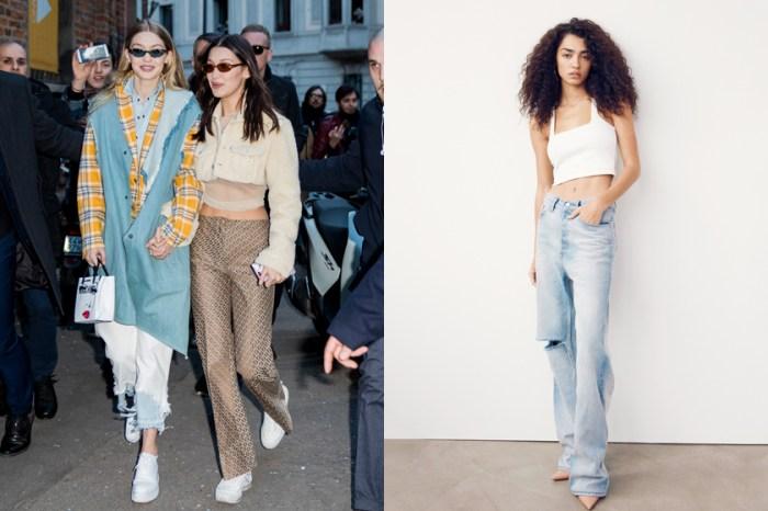 不能小看這個牛仔褲聯乘系列,因為背後的設計出自 Hadid 姊妹的名造型師!