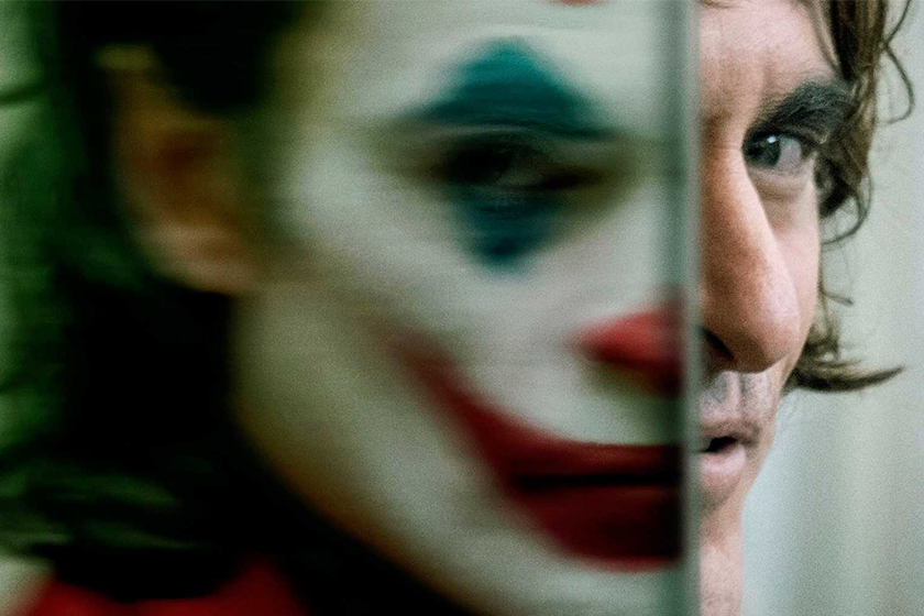 joker left and right hand theory costume makeup hair design