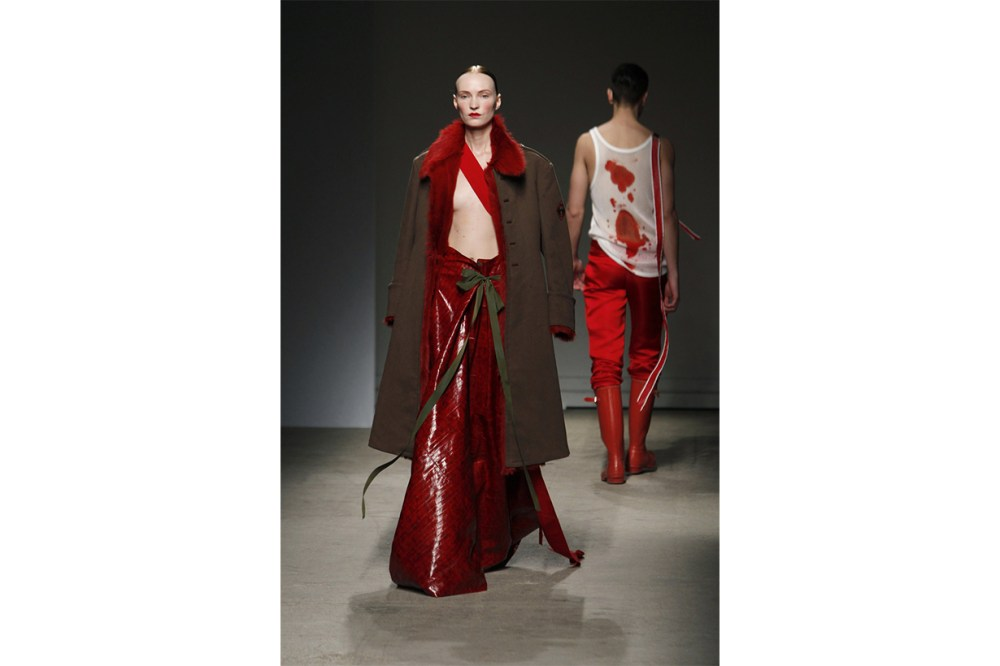 """Looks from the """"Blood and Opulence"""" couture collection of 2010."""