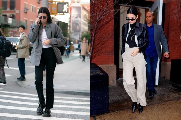 Kendall Jenner 私著愛褲不用 $30 美金?配一雙靴子可以讓你搭整個秋冬!