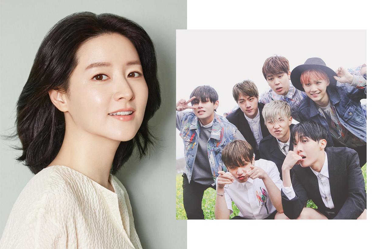 BTS Bangtan Sonyeon Dan Lee Young Ae MAMA 2019 k pop korean idols celebrities singers actresses