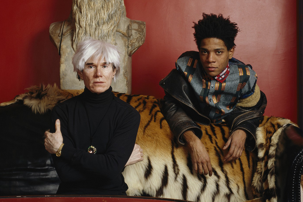 Tale of Two Legends: Warhol and Basquiat Sotheby's Exhibition