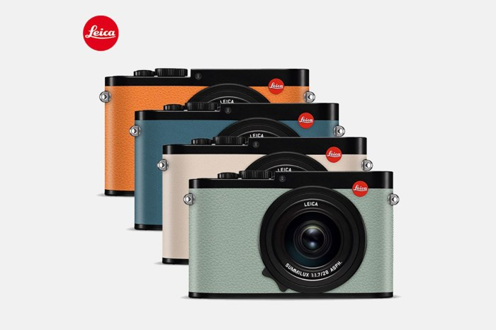 為你的 Leica 相機換新衣!品牌推出全新訂製換皮服務