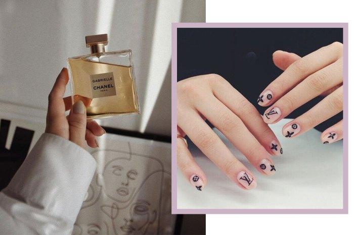 渴望擁有 LV、Chanel?IG 最新趨勢:直接將名牌 Logo 放上指甲!