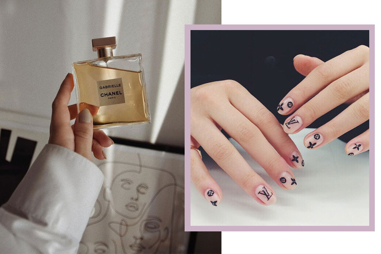 The Logomania Nail Art Trend To Take Over Social Media