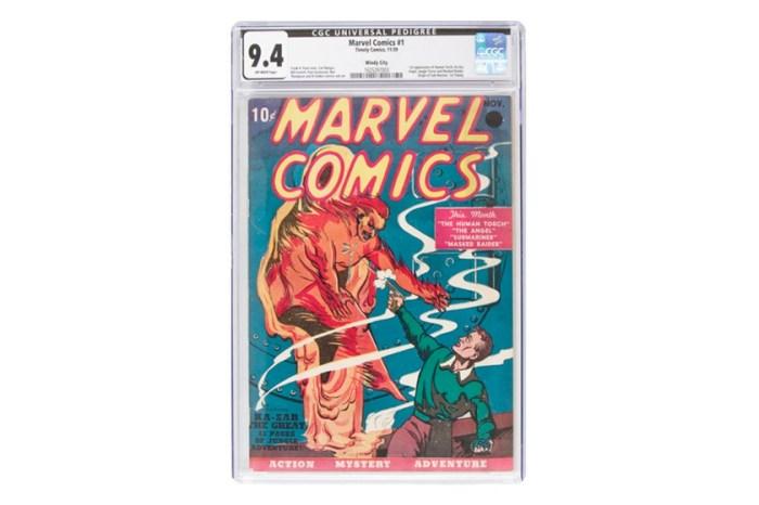 歷史上第一本:80 年前售價 10 Cents 的 Marvel 漫畫,拍賣會以破紀錄巨額成交!