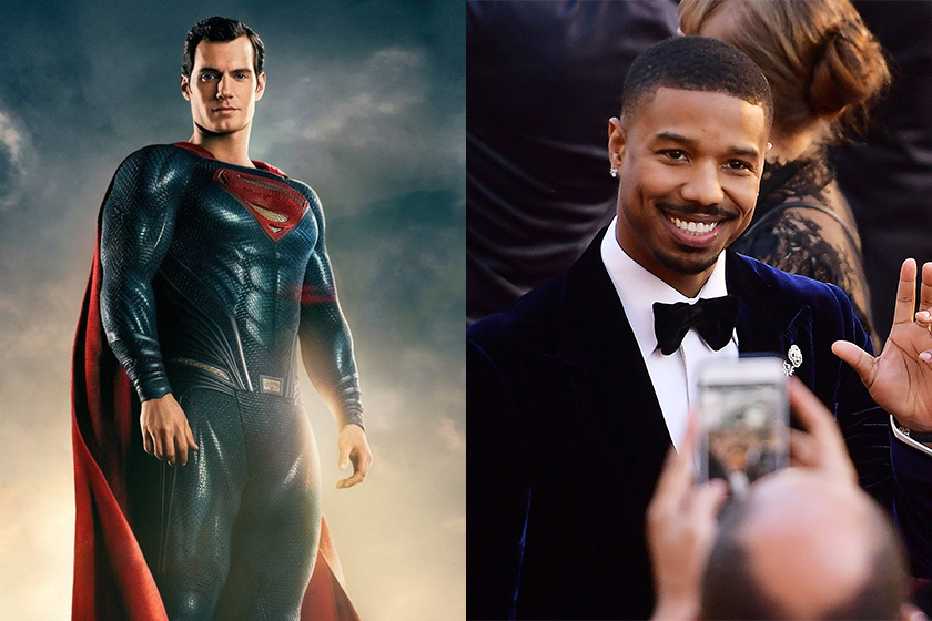 michael b jordan warner bros superman movie
