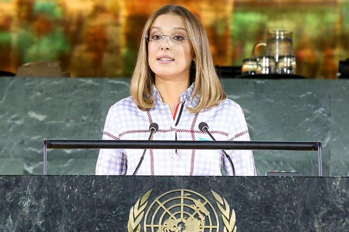 15 歲 Millie Bobby Brown 在聯合國發表講話:「我亦曾經被欺凌、感到無助⋯⋯」