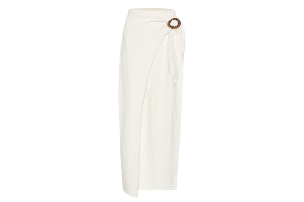 NANUSHKA Sasha Terry Cloth Wrap Skirt