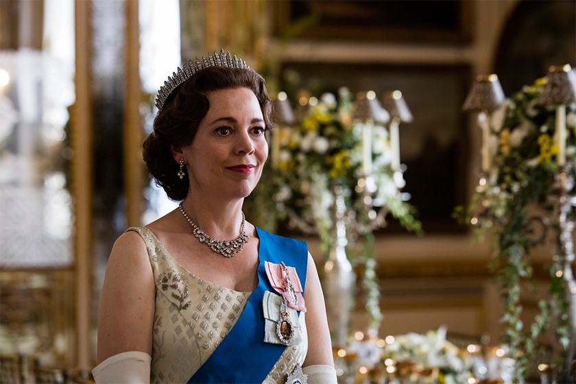netflix the crown slammed over queens affair Lord Porchester