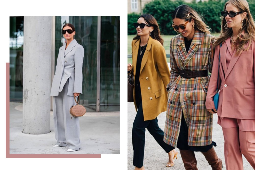 Blazers Street Style fashion week 2019
