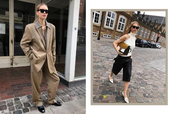 最會穿西裝外套的博主!喜歡時髦北歐風,必定要追蹤她的 IG