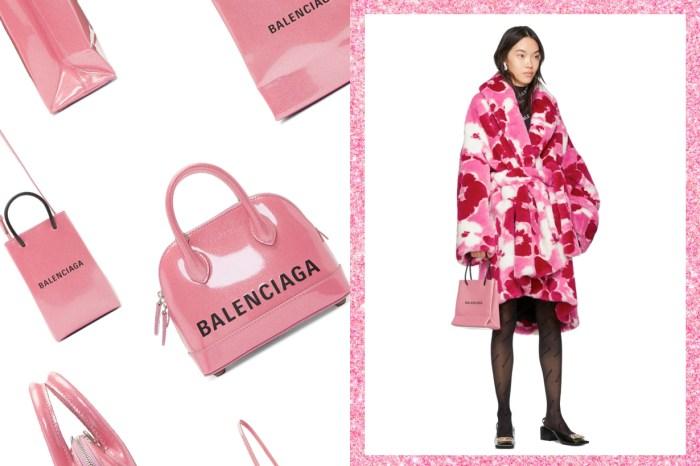 少女心大發:Balenciaga 推出一系列 Pink Glitter 手袋,粉紅帶有珠光的夢幻配色!