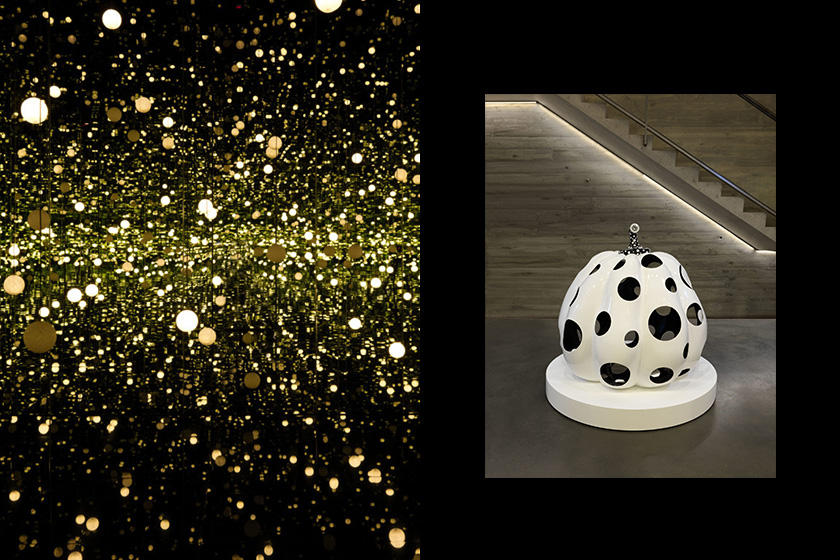 yayoi kusama every day I pray for love exhibition David zwirner new york infinity mirror room