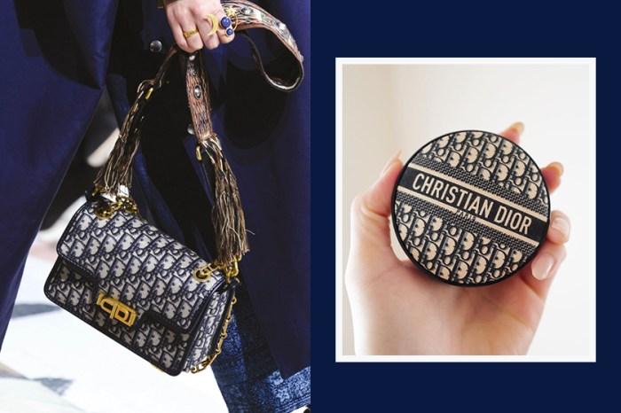 平價版的夢幻彩妝逸品,Dior 即將推出「經典復古緹花」氣墊粉餅!