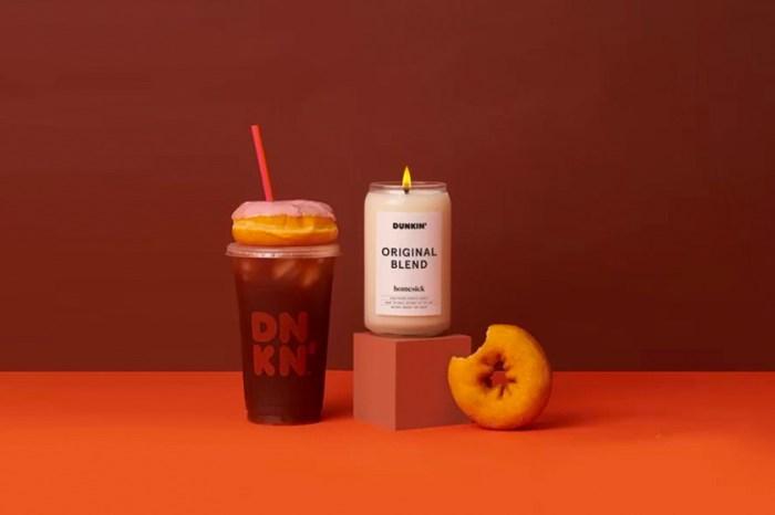 咖啡控注意:這次不是賣甜品,Dunkin' Donuts 推出全新咖啡蠟燭系列!