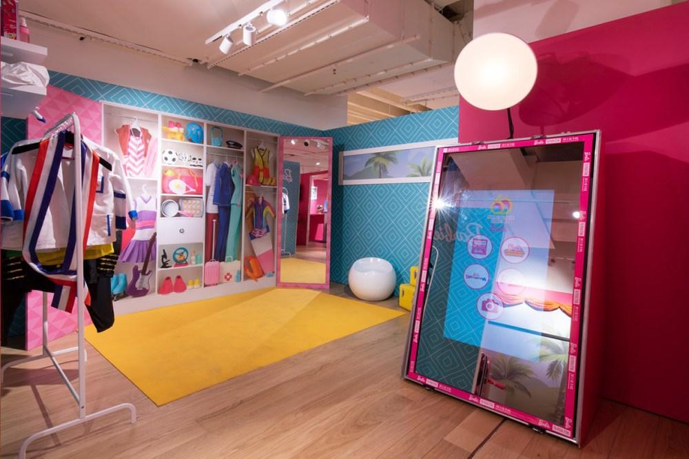 barbie pop up galeries lafayette haussmann in paris