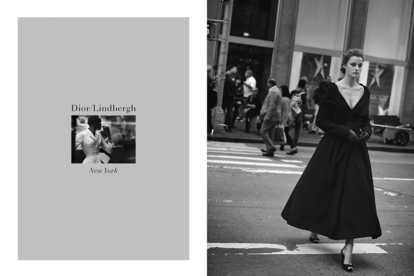 Peter lindbergh new york streets 70 years dior