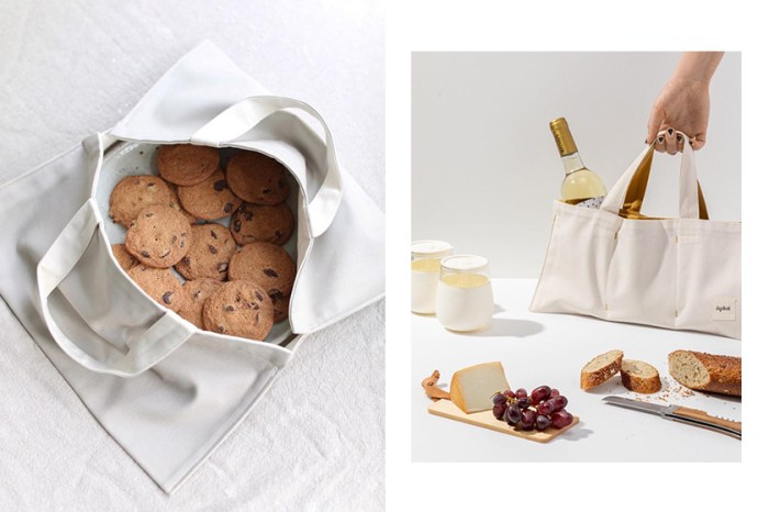 簡約生活態度:乘裝食物的素色帆布袋,以摺紙美學帶來極簡好日子!