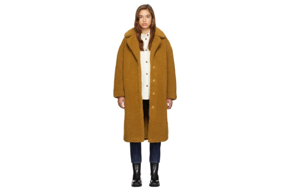 Stand Studio Tan Camilla Coat