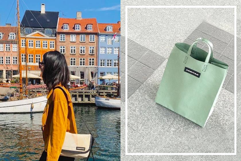 freitag bag fashion tote bag street