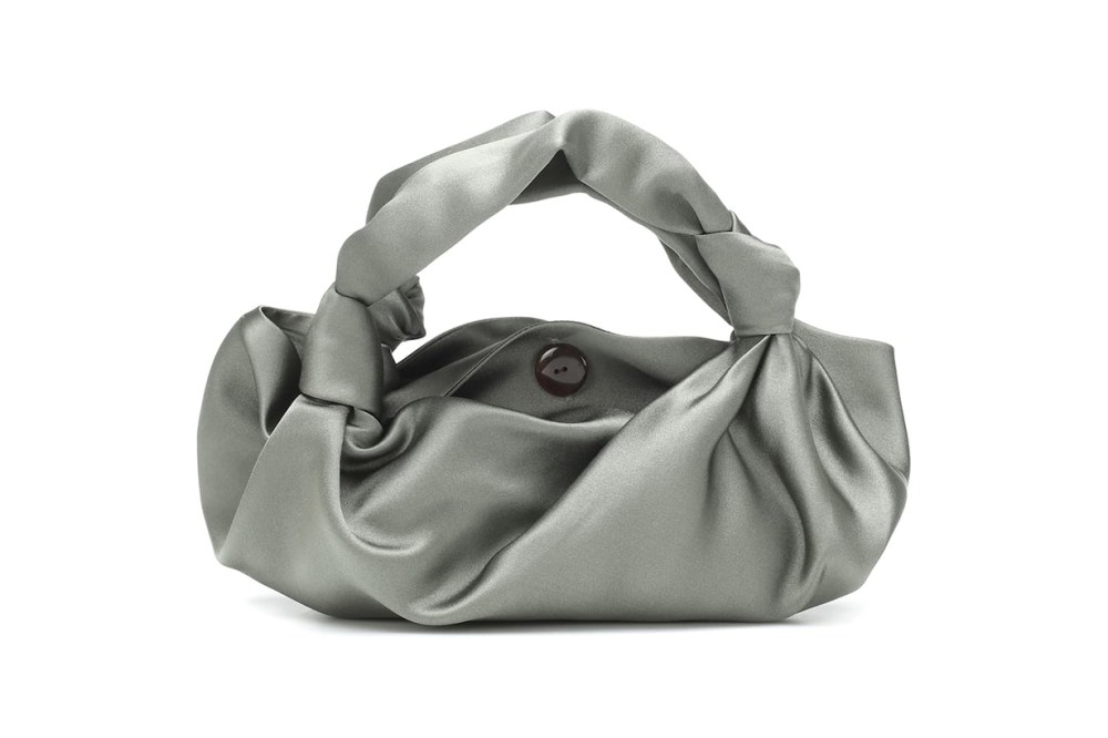 The Ascot Small satin clutch