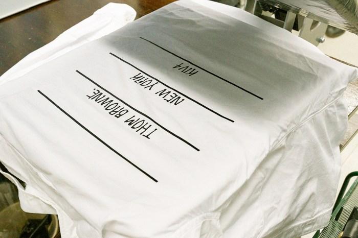 獨一無二的單品,你也可以擁有一件印上自己名字的 Thom Browne!