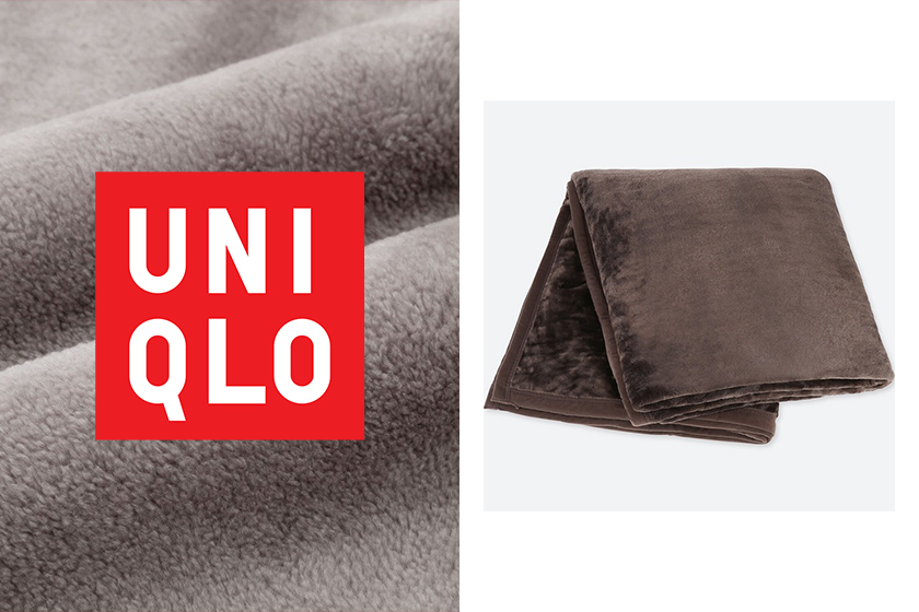 Uniqlo HEATTECH blanket japan keep warm instagram hit