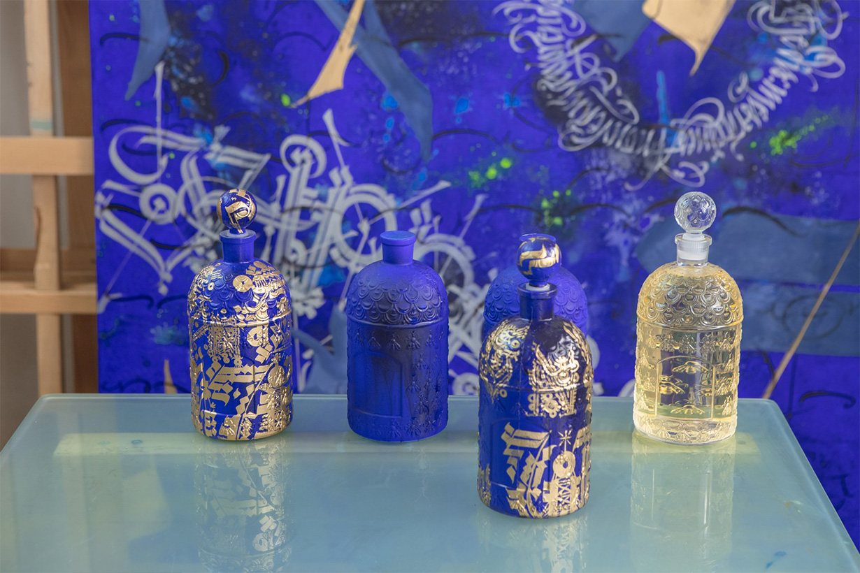 Guerlain perfume Absolus d'Orient the bee bottle exceptional limited edition