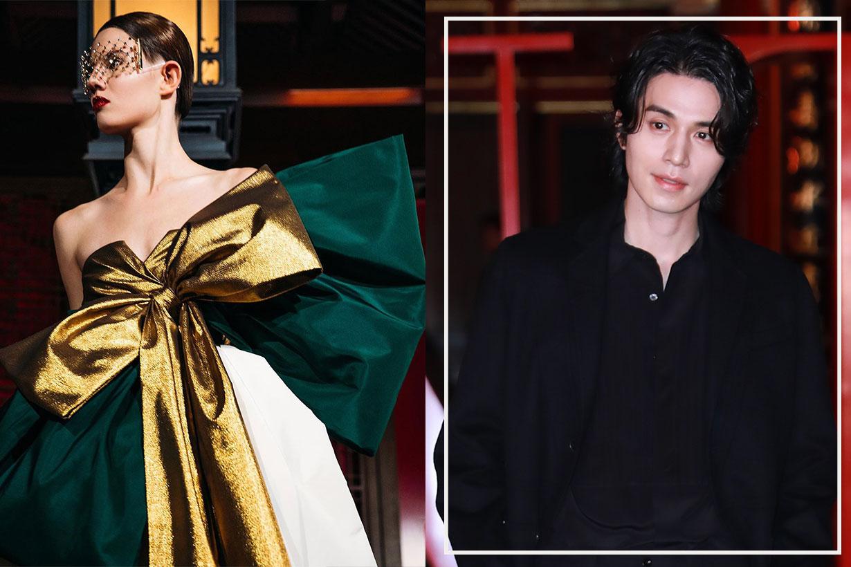 Valentino Beijing haute couture show daydream runway celebrities
