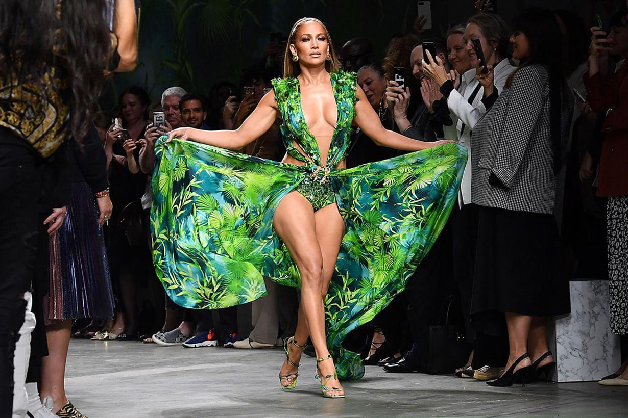 Versace Is Suing Fashion Nova Over Jennifer Lopez Grammys Dress Copy