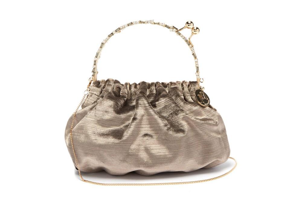 Versailles Velvet Pouch Bag