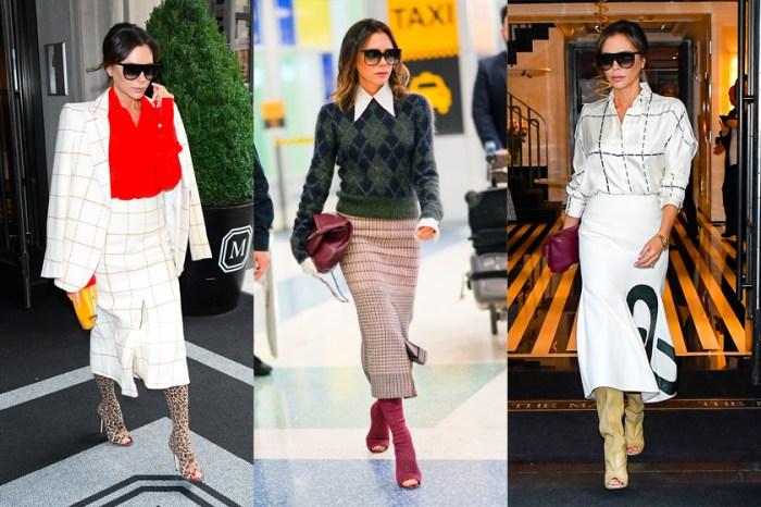 穿搭出鏡率 100%,這些都是 Victoria Beckham 近期最愛不釋手的靴款!