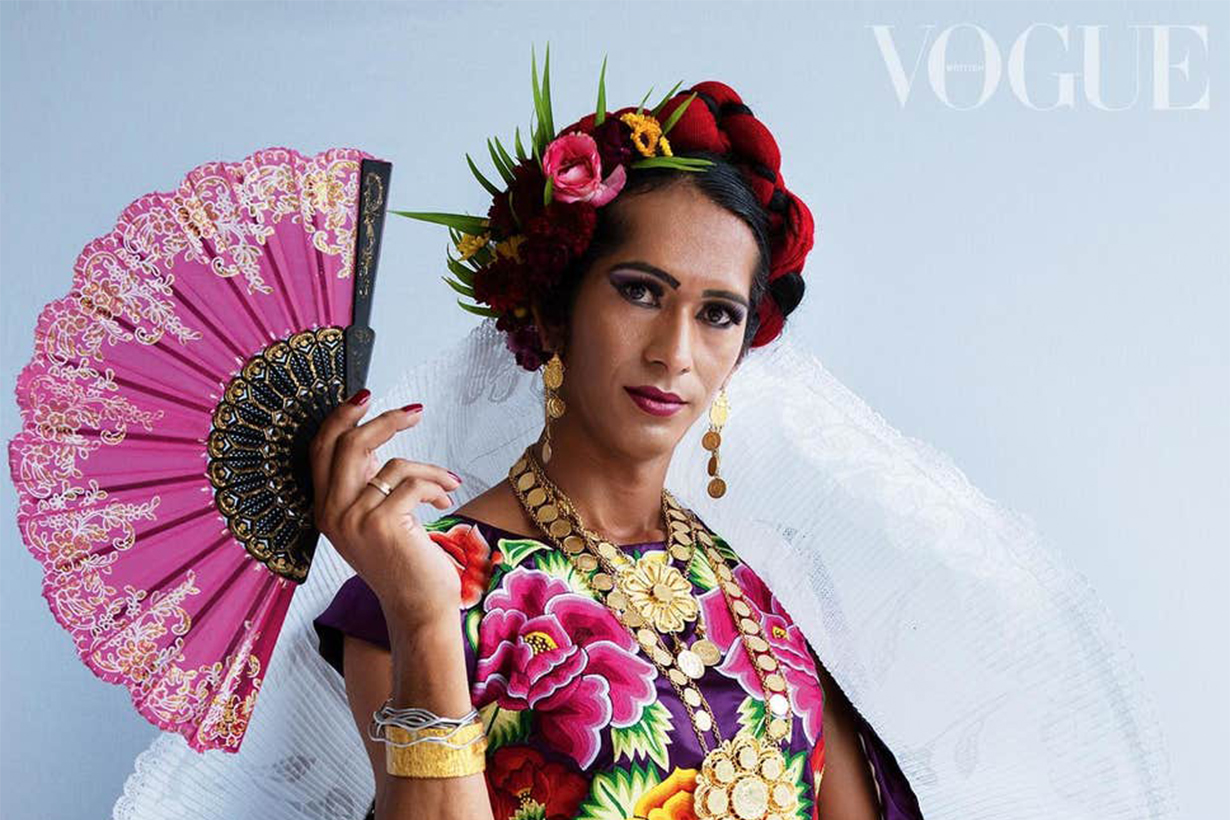 Vogue cover features transgender 'muxe' from Mexico for the first time