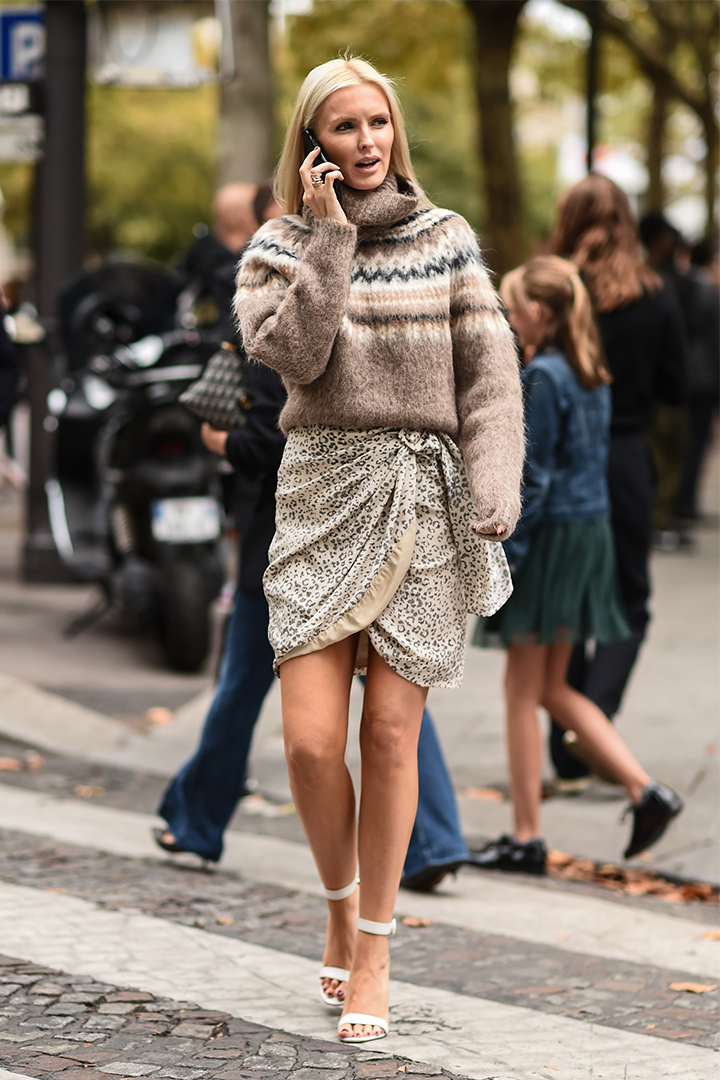 Wrap Skirt Trend 2019 Fall