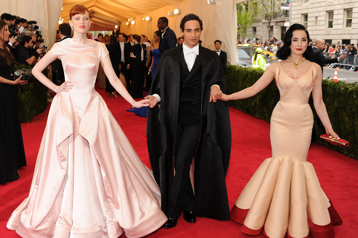 Zac Posen best red carpet dresses
