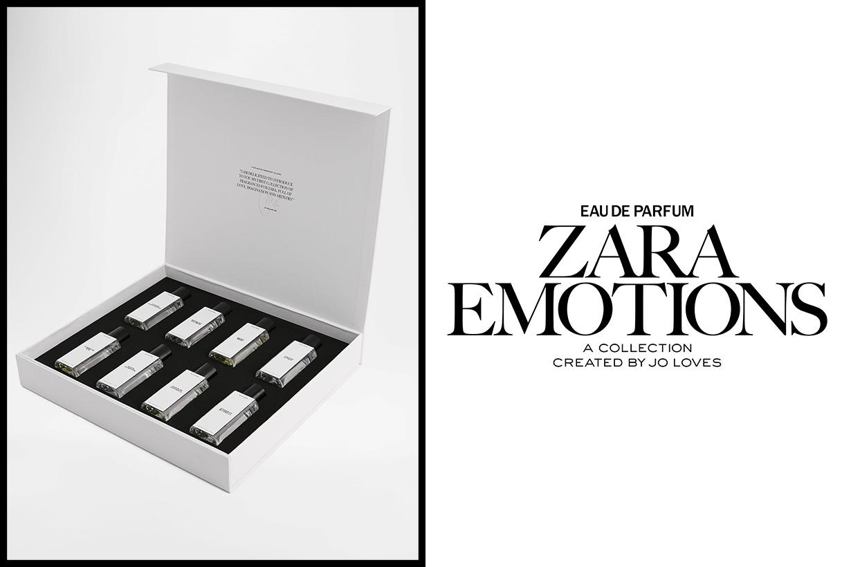 Jo Malone Zara Emotions fragrance perfume