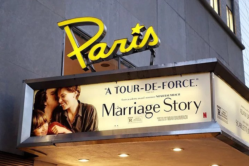 Netflix Movie Paris Theatre Egyptian Theatre
