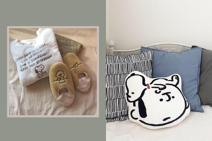 毛茸茸睡衣、室內拖、抱枕都超療癒!Uniqlo 與 Snoopy 聯名橫掃日本女生 Instagram!