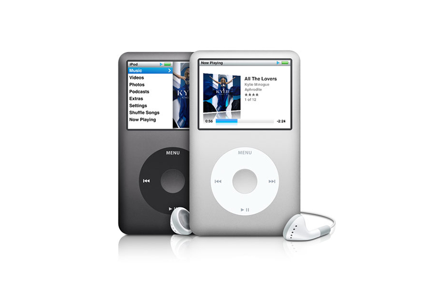 apple iPhone app iPod classic click wheel