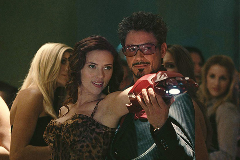Robert Downey Jr Tony Stark Black Widow Movie