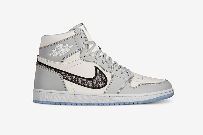 dior x nike Air Jordan 1 Monogram Sneaker release