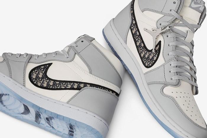 Dior x Jordan Brand 實鞋樣貌搶先曝光:經典 Monogram 印花搭配 AJ1 極簡配色!